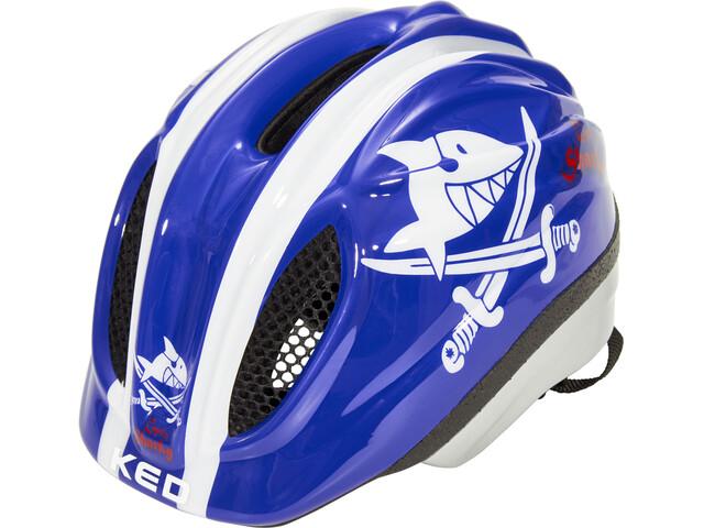 KED Meggy II Originals Helmet Kids Sharky Blue